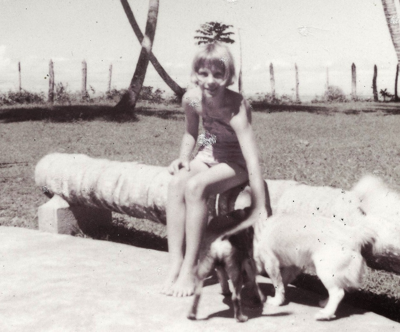 Rita with Bobby and another dog