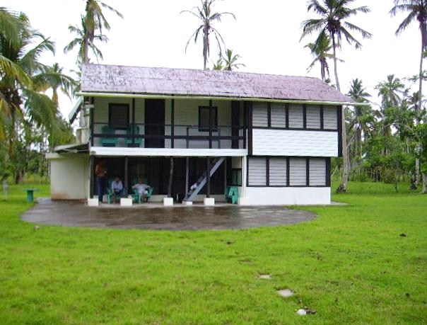 The house at Cocoloco, with modern add-on to the right