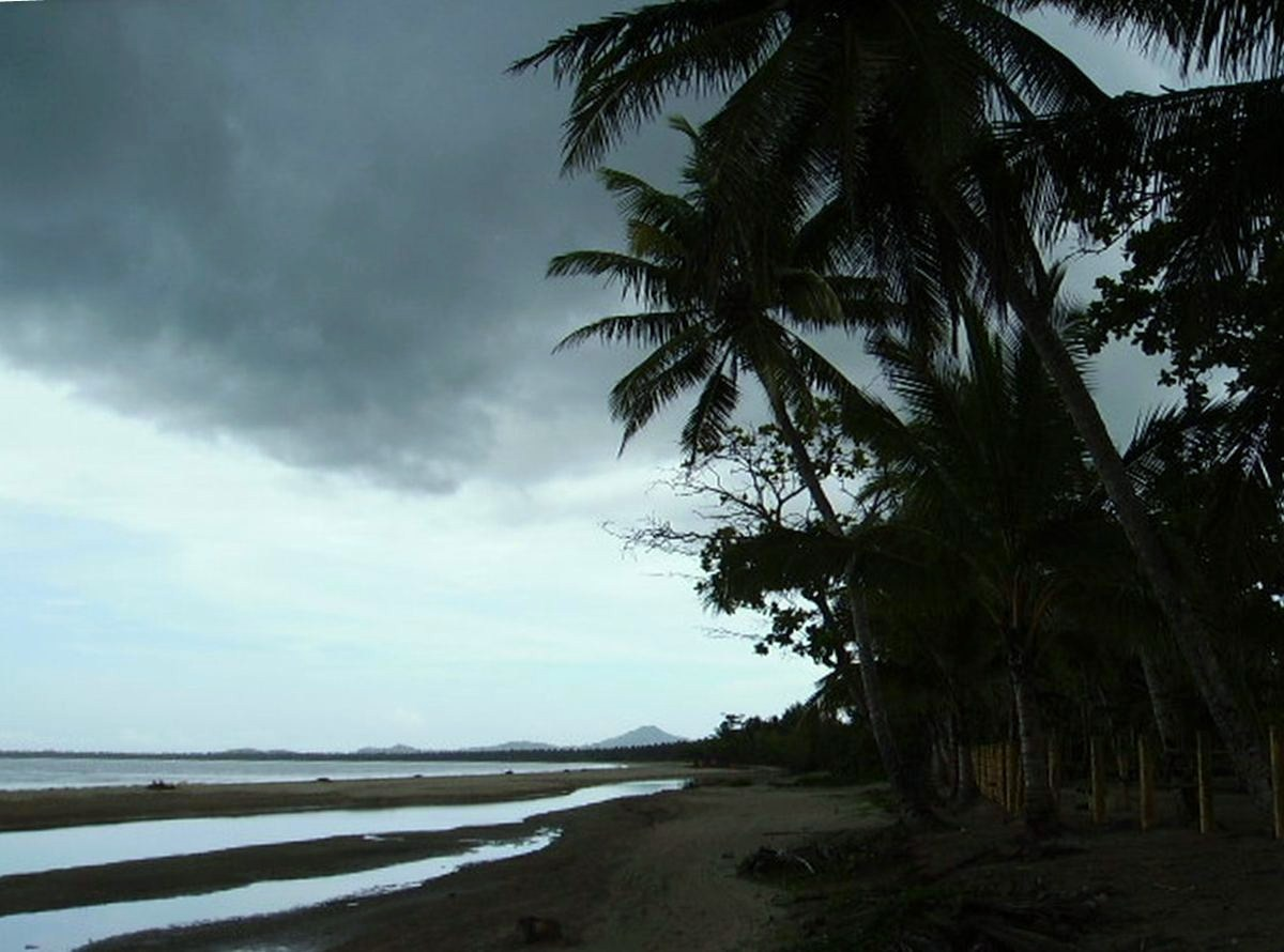 Stormy weather, Playa Arriba, Miches
