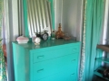 My father painted all our furniture turquoise!