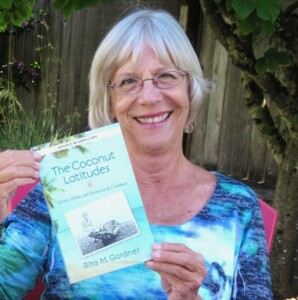 author Rita M. Gardner with Book